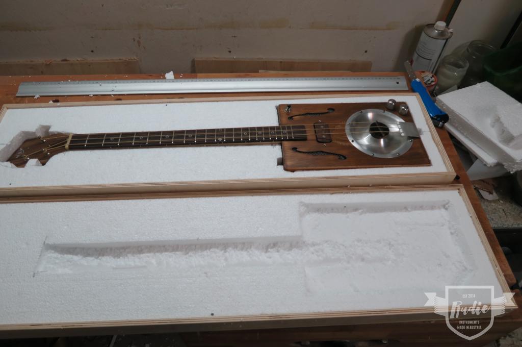 Bau eines Gitarrenkoffers