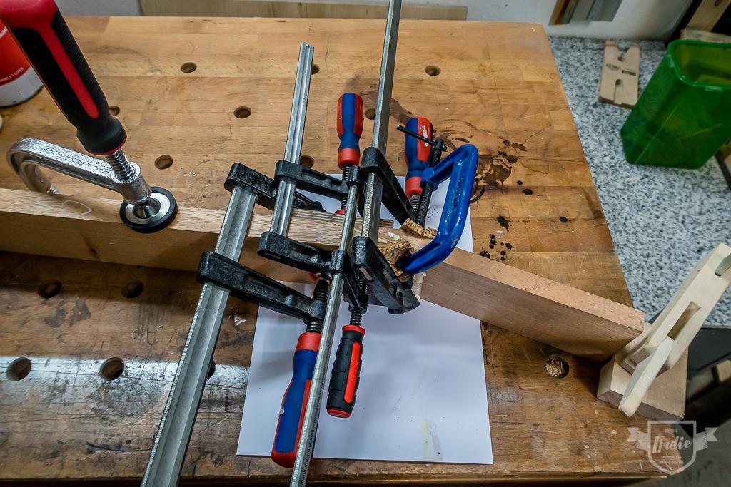Bau einer Guitarlele: #3 Kopfplatte anschäften