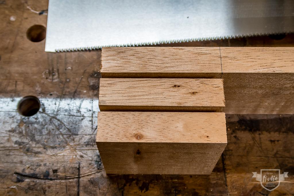 Bau einer Guitarlele: #4 Halsklotz erstellen