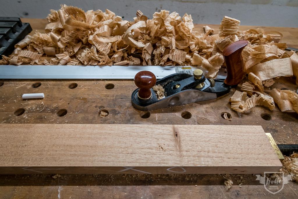 Bau einer Guitarlele: #2 Halskantel abrichten