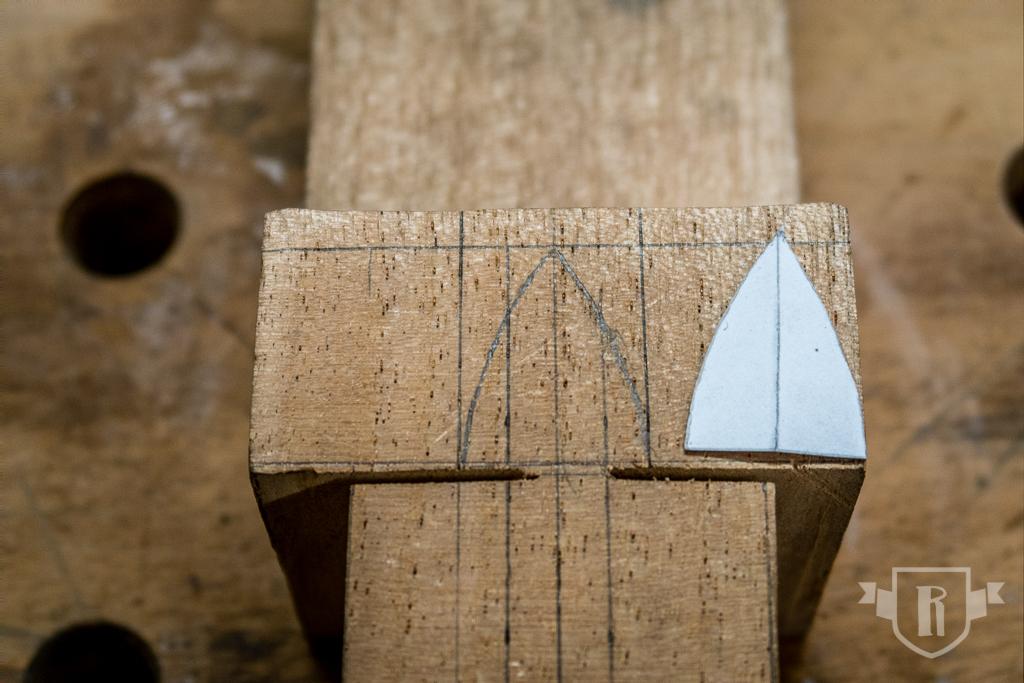 Bau einer Guitarlele: #6 Halsfuß schnitzen