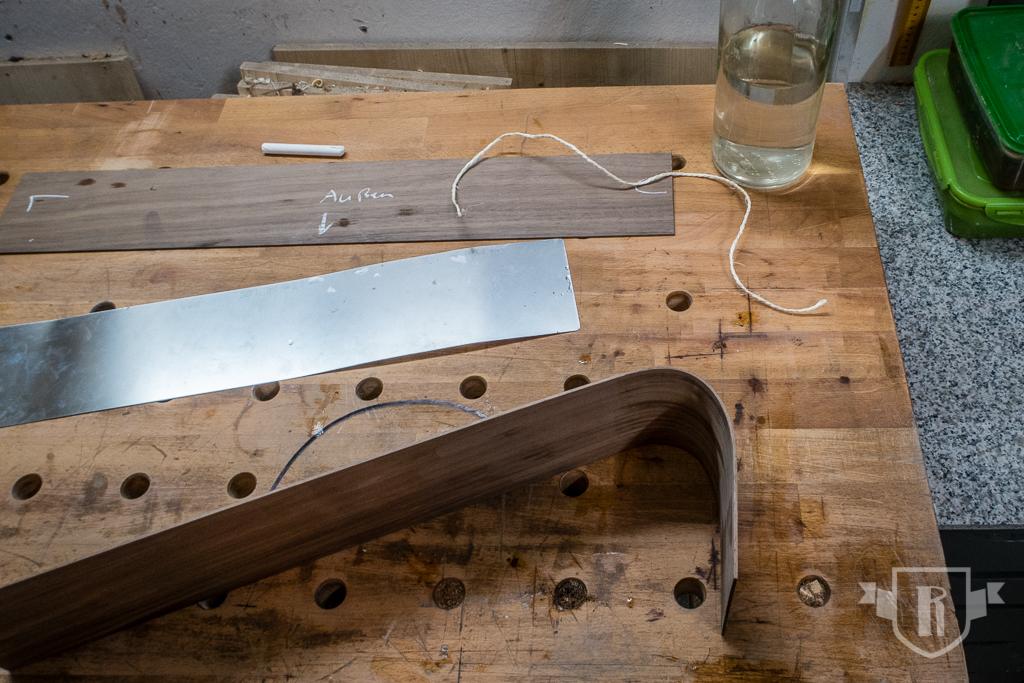 Bau einer Guitarlele: #12 Zargen biegen