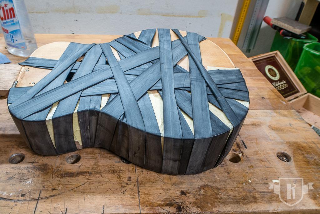 Bau einer Guitarlele: #17 Randeinlagen und Zierstreifen