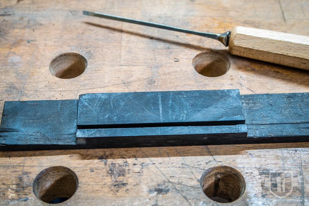 Bau einer Guitarlele: #20 Steg herstellen und aufleimen