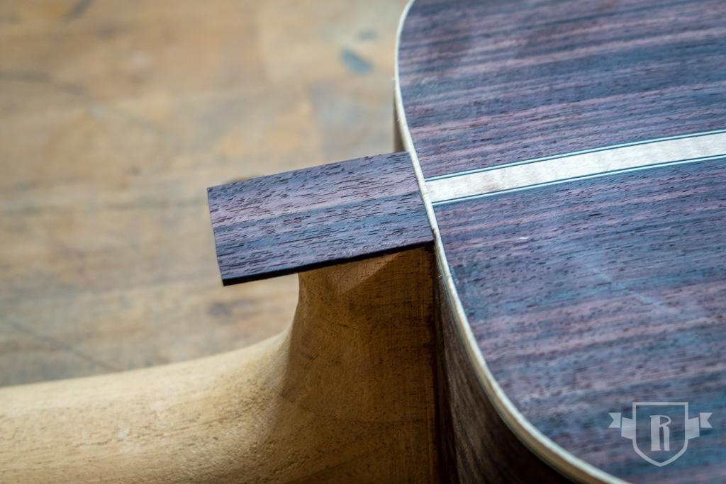Bau einer Guitarlele: #22 Halskontur herstellen