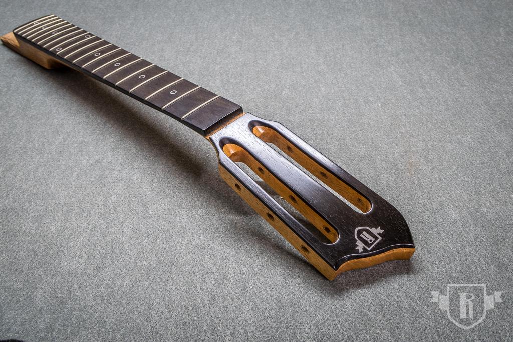 "Baubericht: 6-saitige Cigar-Box-Gitarre ""Nat Sherman"""